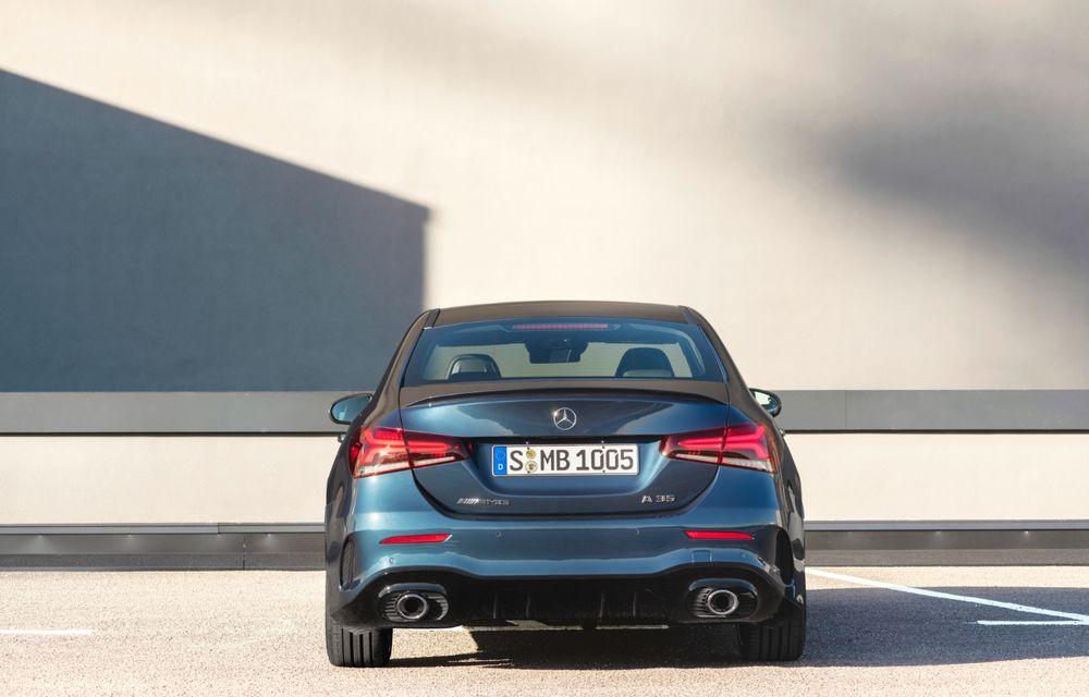 Mercedes a prezentat noul AMG A35 Sedan: 306 CP, tracțiune integrală și 0-100 km/h în 4.8 secunde - Poza 7