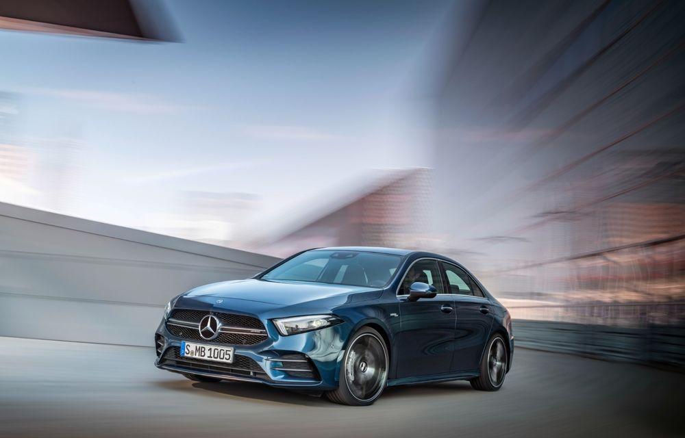 Mercedes a prezentat noul AMG A35 Sedan: 306 CP, tracțiune integrală și 0-100 km/h în 4.8 secunde - Poza 10