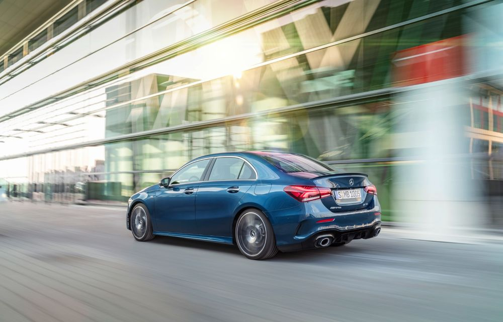 Mercedes a prezentat noul AMG A35 Sedan: 306 CP, tracțiune integrală și 0-100 km/h în 4.8 secunde - Poza 13