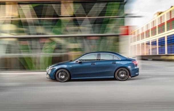 Mercedes a prezentat noul AMG A35 Sedan: 306 CP, tracțiune integrală și 0-100 km/h în 4.8 secunde - Poza 14