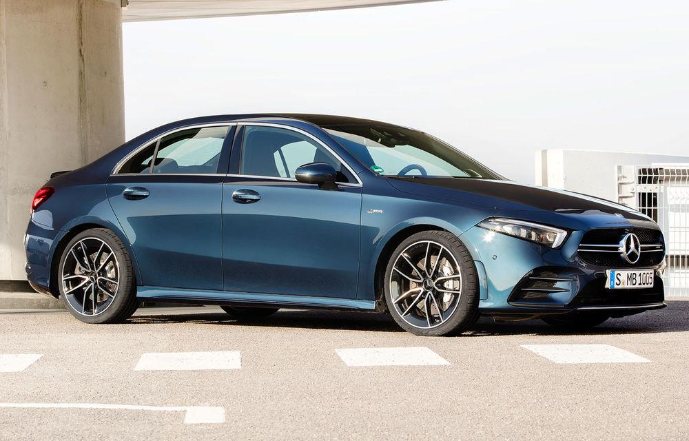 Mercedes a prezentat noul AMG A35 Sedan: 306 CP, tracțiune integrală și 0-100 km/h în 4.8 secunde - Poza 1