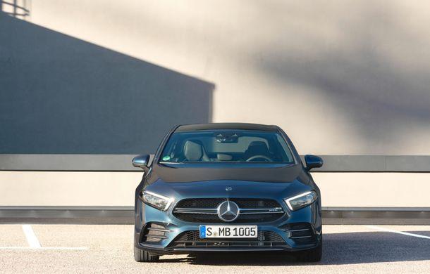 Mercedes a prezentat noul AMG A35 Sedan: 306 CP, tracțiune integrală și 0-100 km/h în 4.8 secunde - Poza 3