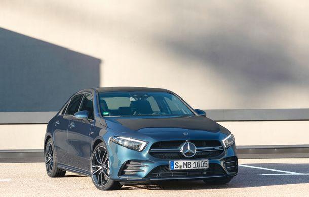 Mercedes a prezentat noul AMG A35 Sedan: 306 CP, tracțiune integrală și 0-100 km/h în 4.8 secunde - Poza 2