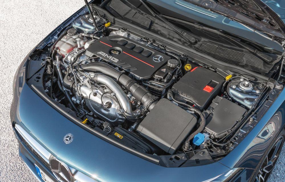 Mercedes a prezentat noul AMG A35 Sedan: 306 CP, tracțiune integrală și 0-100 km/h în 4.8 secunde - Poza 26
