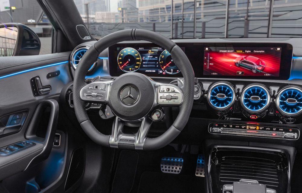Mercedes a prezentat noul AMG A35 Sedan: 306 CP, tracțiune integrală și 0-100 km/h în 4.8 secunde - Poza 23