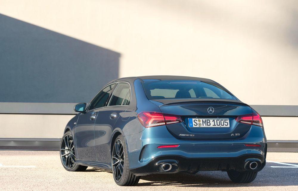 Mercedes a prezentat noul AMG A35 Sedan: 306 CP, tracțiune integrală și 0-100 km/h în 4.8 secunde - Poza 8