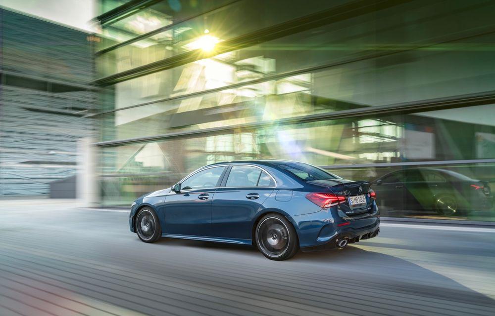Mercedes a prezentat noul AMG A35 Sedan: 306 CP, tracțiune integrală și 0-100 km/h în 4.8 secunde - Poza 12