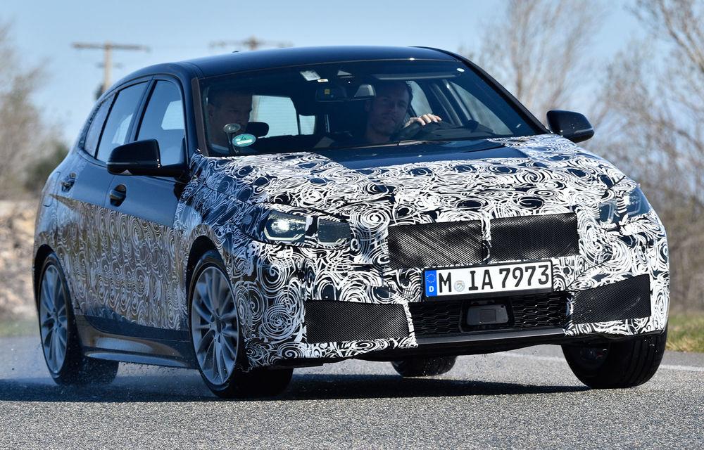 Detalii despre viitoarea generație BMW Seria 1: mai mult spațiu la interior și versiune M135i xDrive cu 306 CP - Poza 1