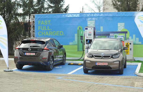 Rețeaua europeană Next-E se extinde în România: stații noi de încărcare pentru mașinile electrice la Suceava și Roman, după cea de la Iași. Total de 40 de stații în țară până anul viitor - Poza 1