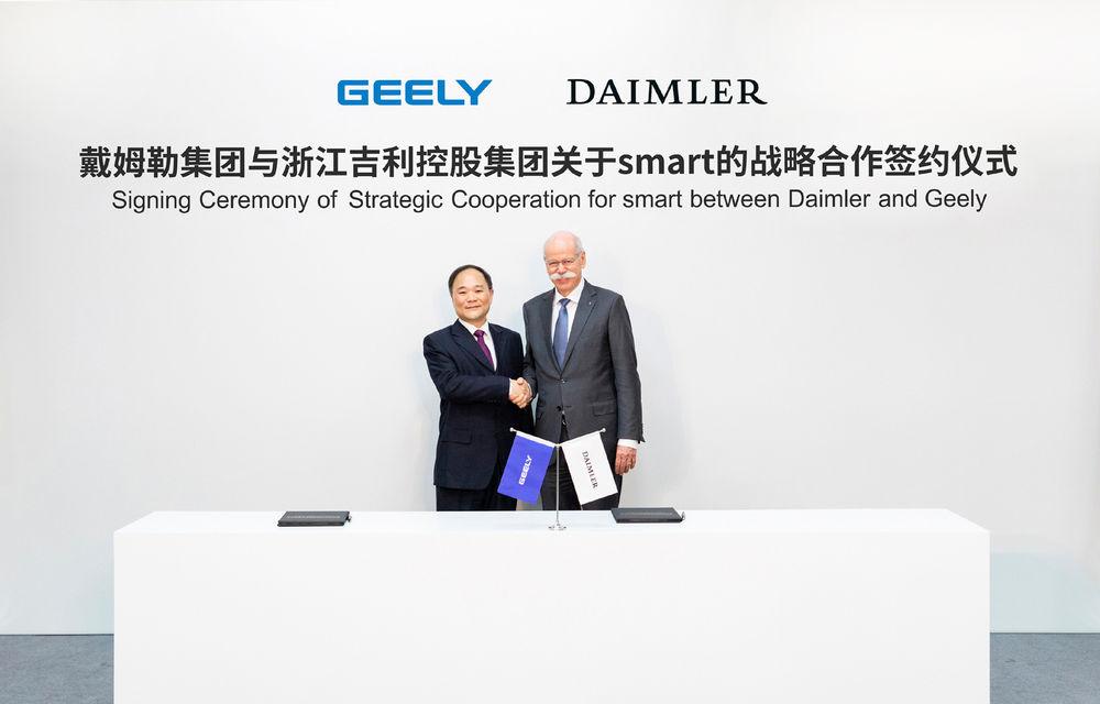 Oficial: Smart va produce doar modele electrice și va fi deținută în coproprietate de Daimler și chinezii de la Geely, proprietarii Volvo - Poza 2