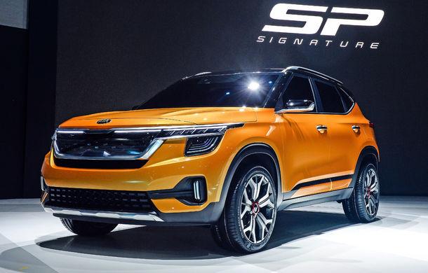 Kia prezintă Signature: conceptul anticipează lansarea unui nou SUV compact în 2019 - Poza 1