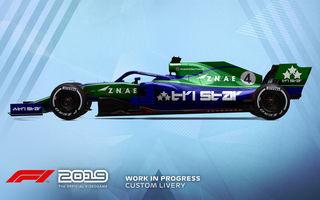 Primul trailer pentru noul joc F1 2019: monoposturile vor putea fi personalizate, iar lansarea are loc în 28 iunie