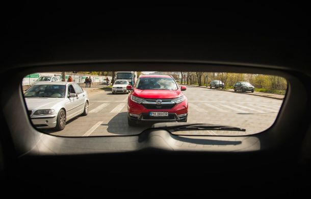 Comparativ de consum: Honda CR-V hibrid vs. Honda CR-V benzină în traficul din București - Poza 46