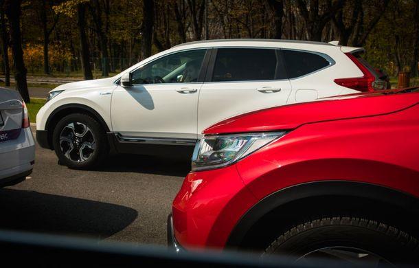 Comparativ de consum: Honda CR-V hibrid vs. Honda CR-V benzină în traficul din București - Poza 19