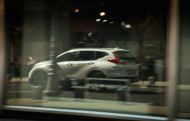 Comparativ de consum: Honda CR-V hibrid vs. Honda CR-V benzină în traficul din București - Poza 34