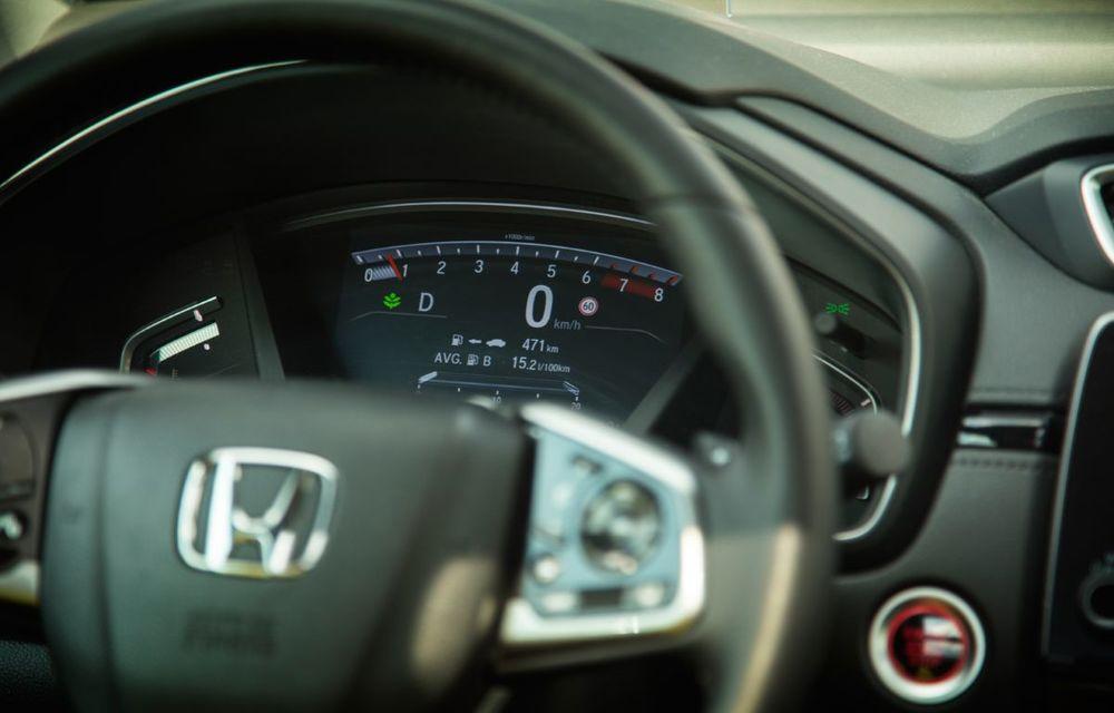 Comparativ de consum: Honda CR-V hibrid vs. Honda CR-V benzină în traficul din București - Poza 52