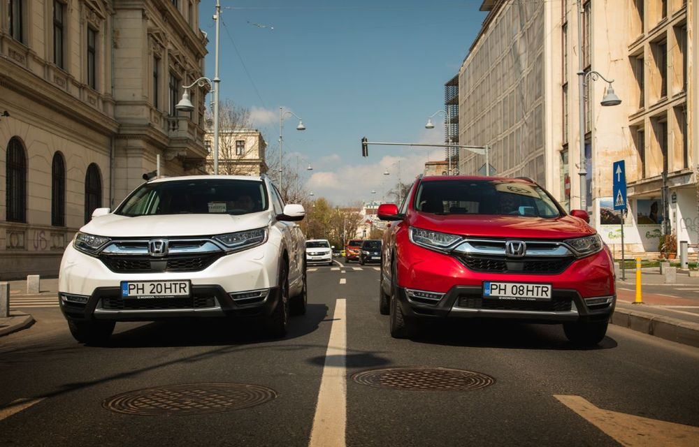 Comparativ de consum: Honda CR-V hibrid vs. Honda CR-V benzină în traficul din București - Poza 28