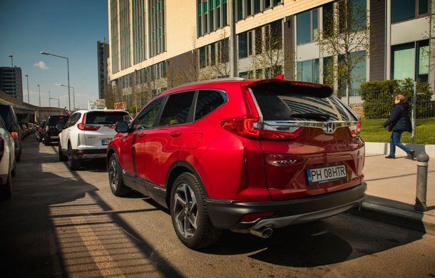 Comparativ de consum: Honda CR-V hibrid vs. Honda CR-V benzină în traficul din București - Poza 9