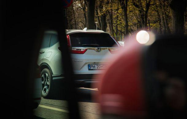 Comparativ de consum: Honda CR-V hibrid vs. Honda CR-V benzină în traficul din București - Poza 20