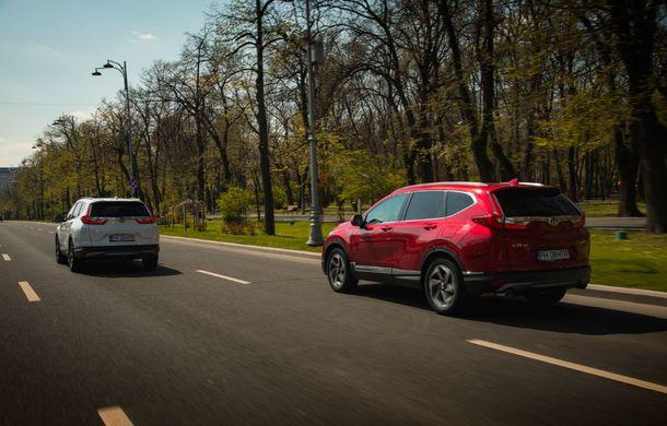 Comparativ de consum: Honda CR-V hibrid vs. Honda CR-V benzină în traficul din București - Poza 23