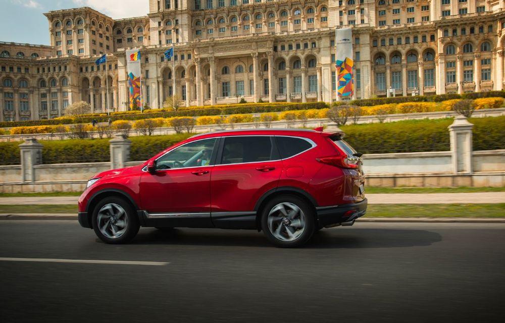Comparativ de consum: Honda CR-V hibrid vs. Honda CR-V benzină în traficul din București - Poza 38