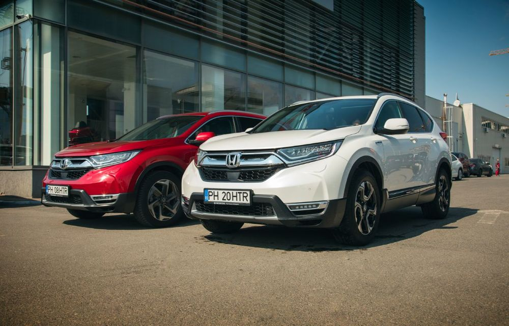 Comparativ de consum: Honda CR-V hibrid vs. Honda CR-V benzină în traficul din București - Poza 3