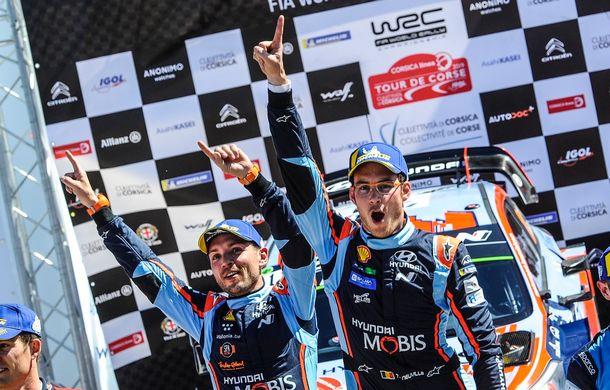 Prima victorie pentru Thierry Neuville în actuala stagiune a Campionatului Mondial de Raliuri: belgianul a câștigat Raliul Corsicii după un final dramatic - Poza 2