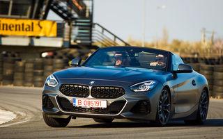 Prim contact cu noile BMW Seria 3 și Z4: test de îndemânare cu sedanul 330i și tururi de circuit cu roadsterul bavarez
