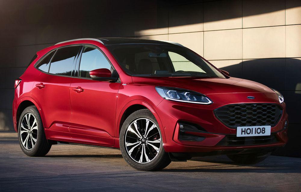 Ford prezintă noua generație Kuga: design nou, interior modificat și o gamă completă de motorizări hibride - Poza 1