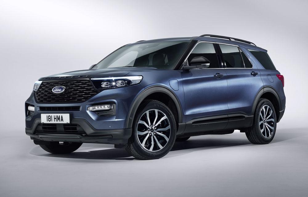 Ford Explorer vine în Europa: SUV-ul cu 7 locuri va fi disponibil doar în variantă plug-in hybrid de 450 de cai putere cu autonomie electrică de 40 de kilometri - Poza 1