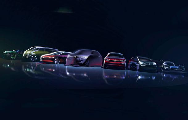 Primele schițe oficiale cu viitorul concept ID Roomzz: SUV-ul electric va fi expus în premieră la Shanghai - Poza 3