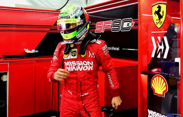 """Mick Schumacher a debutat într-un monopost de Formula 1 pentru Ferrari: """"A fost uimitor, m-am simțit ca acasă"""" - Poza 3"""