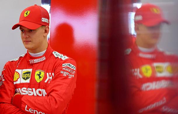 """Mick Schumacher a debutat într-un monopost de Formula 1 pentru Ferrari: """"A fost uimitor, m-am simțit ca acasă"""" - Poza 4"""