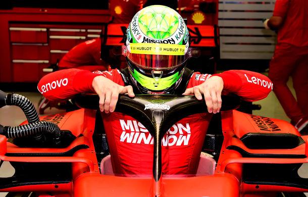 """Mick Schumacher a debutat într-un monopost de Formula 1 pentru Ferrari: """"A fost uimitor, m-am simțit ca acasă"""" - Poza 2"""