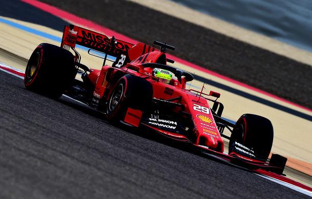 """Mick Schumacher a debutat într-un monopost de Formula 1 pentru Ferrari: """"A fost uimitor, m-am simțit ca acasă"""" - Poza 1"""