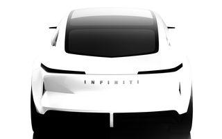 Primul teaser cu viitorul concept Infiniti Qs Inspiration: prototipul anunță un viitor sedan de performanță