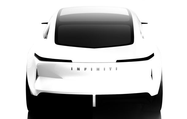 Primul teaser cu viitorul concept Infiniti Qs Inspiration: prototipul anunță un viitor sedan de performanță - Poza 1