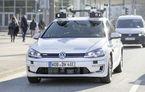 Volkswagen a început testele cu mașini autonome: cinci unități e-Golf folosesc un traseu de 3 kilometri din Hamburg