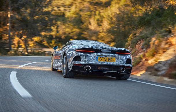 McLaren prezintă imagini noi cu viitorul său Grand Tourer: noul model cu motor V8 va fi dezvăluit în luna mai - Poza 2