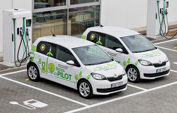 Skoda a demarat proiectul pilot eMobility: zece prototipuri Citigo E colectează date pentru finalizarea versiunii de serie a citadinului electric - Poza 1