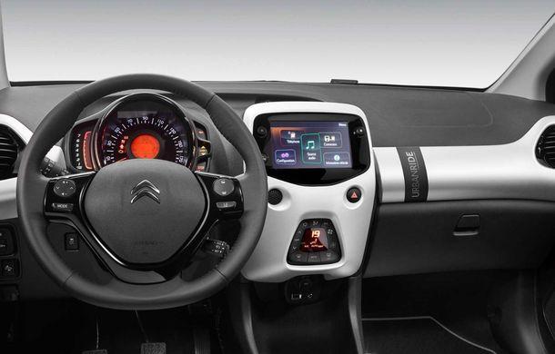 Citroen introduce o versiune îmbunătățită a ediției speciale C1 Urban Ride: culori noi pentru caroserie, jante de 15 inch și accesorii speciale de interior - Poza 9