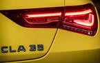 Prima imagine teaser cu viitorul Mercedes-AMG CLA 35: modelul constructorul german va avea motor de 2.0 litri de 306 CP