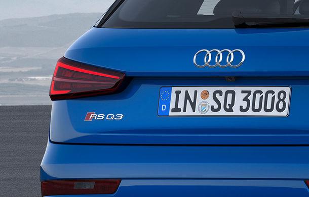 Informații despre viitorul Audi RS Q3: SUV-ul de performanță debutează în cursul anului și promite peste 400 CP - Poza 1