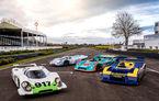 50 de ani de la debutul lui Porsche 917: nemții au adus patru exemplare 917 la Goodwood