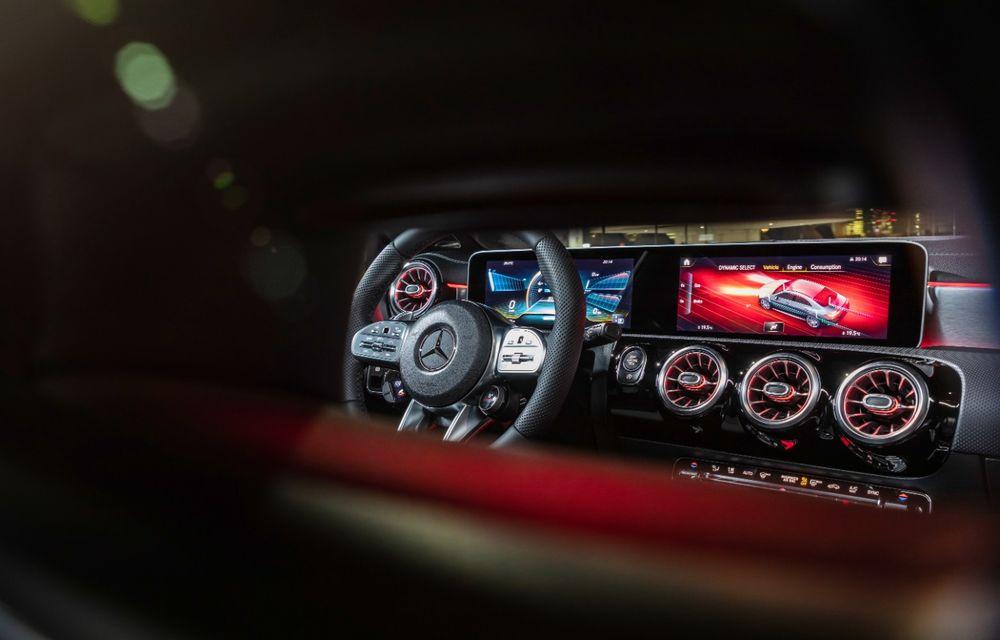 Mercedes a prezentat noul AMG CLA 35: aspect mai agresiv și motor de 2.0 litri cu 306 CP - Poza 30
