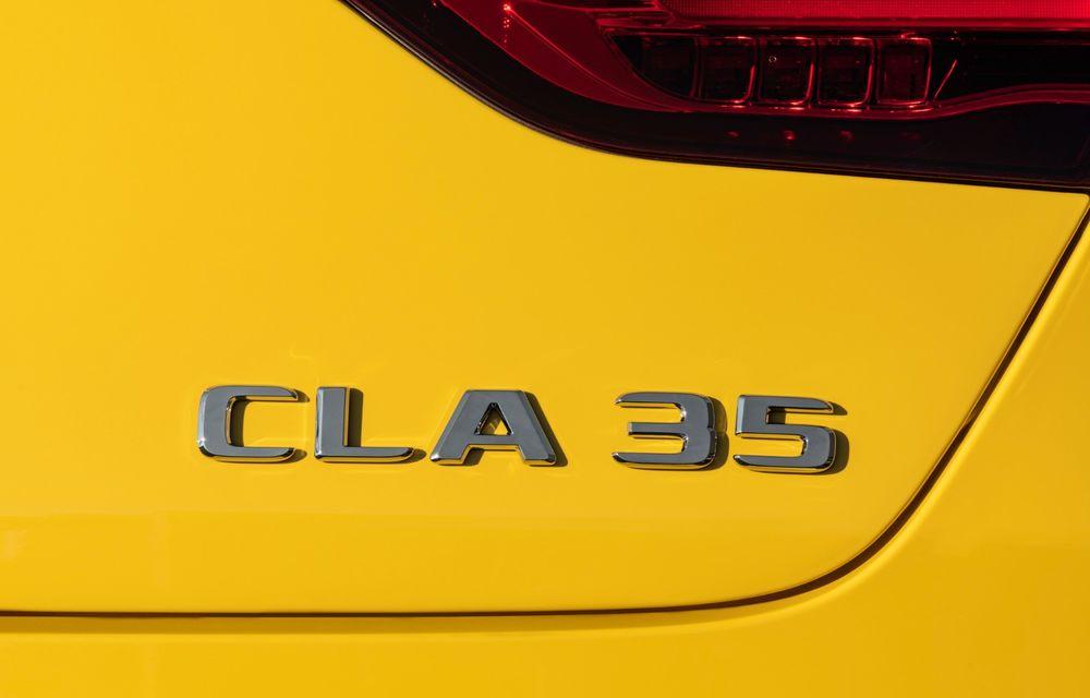 Mercedes a prezentat noul AMG CLA 35: aspect mai agresiv și motor de 2.0 litri cu 306 CP - Poza 25