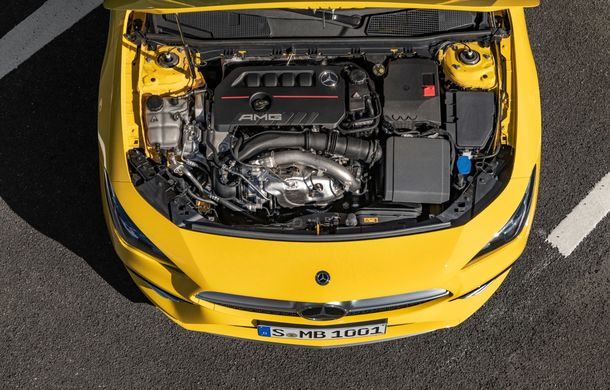 Mercedes a prezentat noul AMG CLA 35: aspect mai agresiv și motor de 2.0 litri cu 306 CP - Poza 32