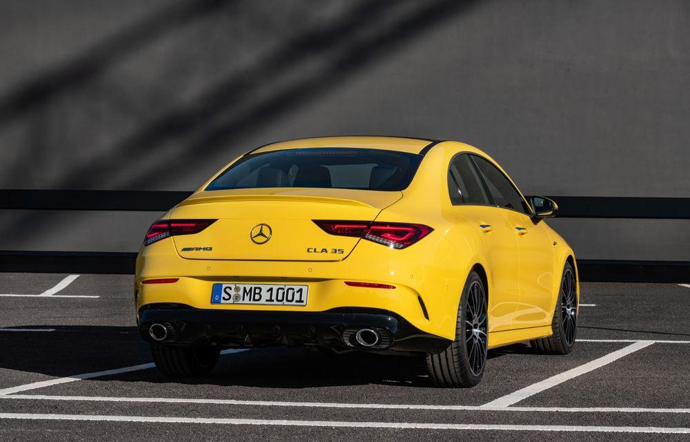Mercedes a prezentat noul AMG CLA 35: aspect mai agresiv și motor de 2.0 litri cu 306 CP - Poza 15