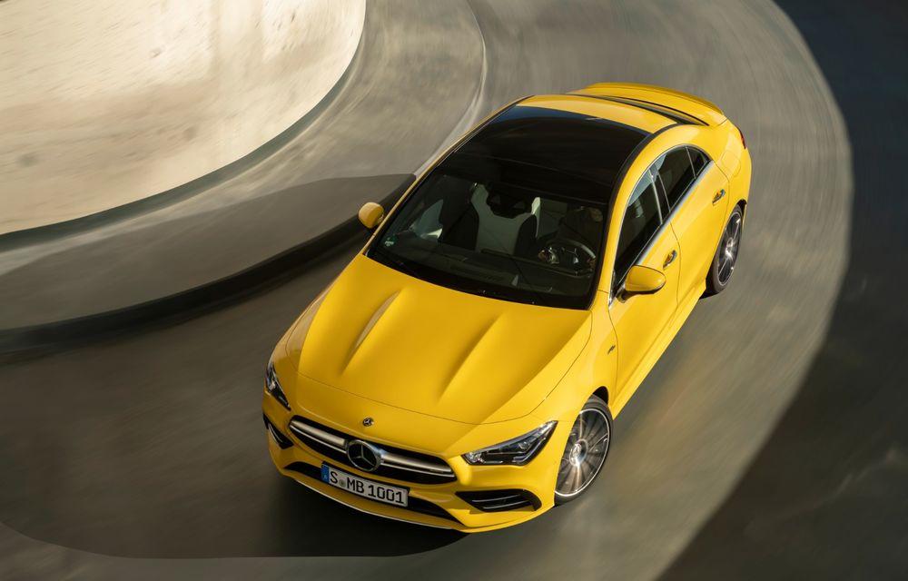 Mercedes a prezentat noul AMG CLA 35: aspect mai agresiv și motor de 2.0 litri cu 306 CP - Poza 6