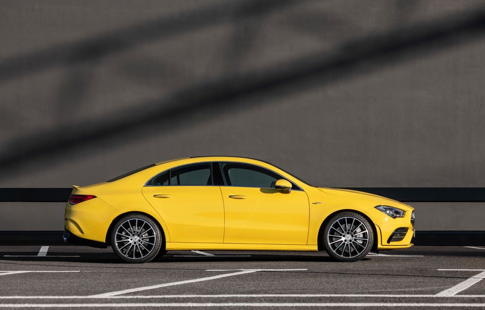 Mercedes a prezentat noul AMG CLA 35: aspect mai agresiv și motor de 2.0 litri cu 306 CP - Poza 12